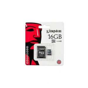 Carte micro SDHC 16go Kingston classe 4 + adaptateur sd