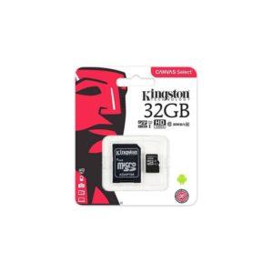 Carte micro SDHC 32go Kingston classe 10 + adaptateur sd