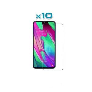10 Verres trempé Samsung Galaxy A40