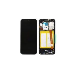 Ecran Samsung A20e Noir (Service Pack)