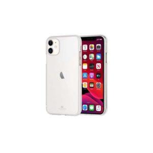 Coque silicone iPhone 11 transparent (Goospery Jelly)