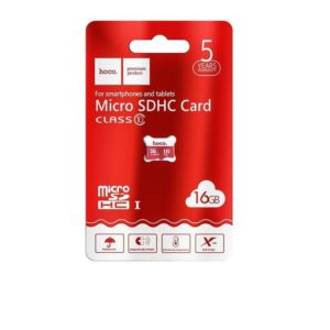 Carte Micro SD Hoco – 16 GB