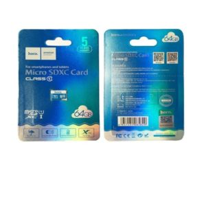 Carte Micro SD Hoco – 64 GB