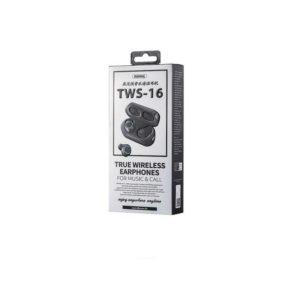 Écouteurs Bluetooth Remax TWS-16 Noir