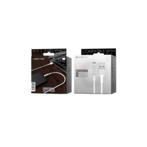 Câble Borofone Lightning Blanc (BX1) 1M