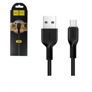 Câble Hoco X20 USB Type C Noir 1M