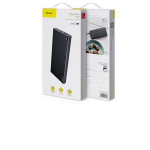 Power Bank Baseus Choc 10000mAh USB, Type-C et Micro USB Blanc (PPALL-QK21)