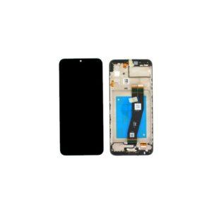 Ecran Samsung Galaxy A02S 2020 – Noir Service Pack (Avec Châssis)