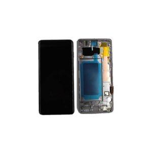 Ecran Samsung Galaxy S10 Noir Avec Châssis (Reconditionné)
